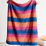 Darcy Striped Amped Fleece Throw Blanket