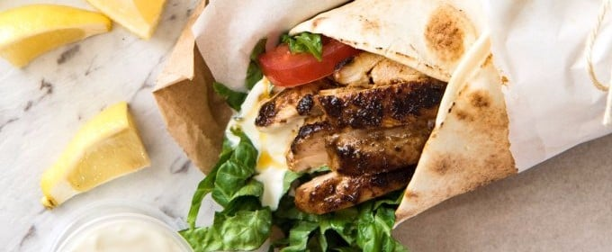 Healthy Chicken Wrap Ideas