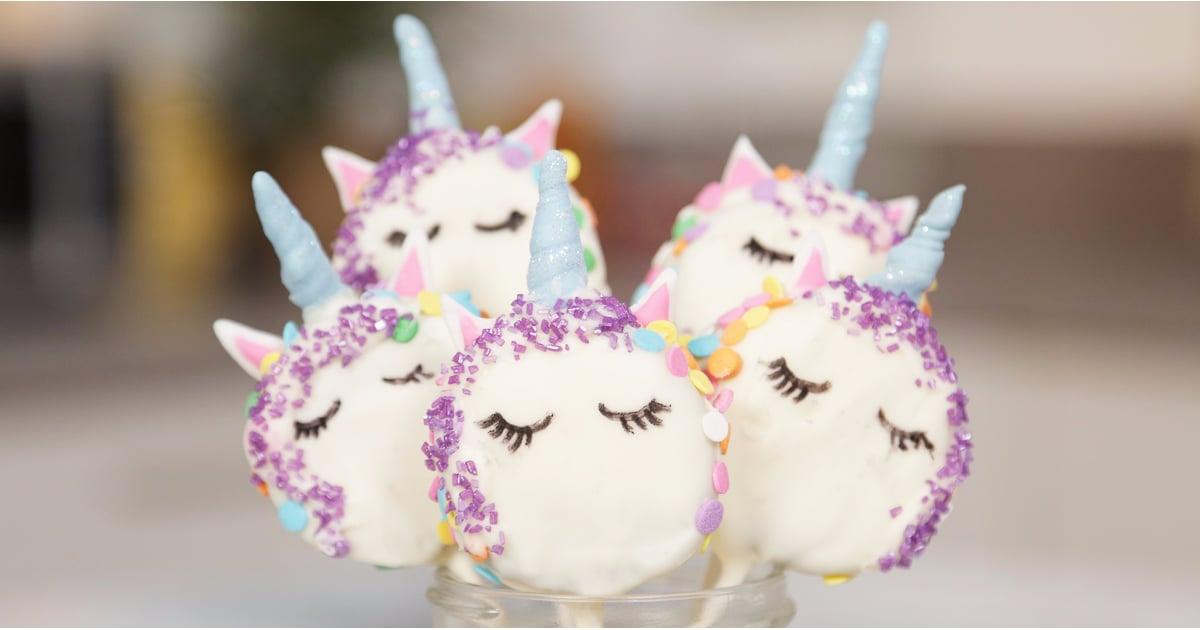 Oreo Unicorn Cookie Pops Popsugar Food