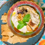 Hala Lebanese Organic's Hummus With Figs and Walnuts Recipe