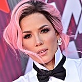 Halsey With Pink Hair