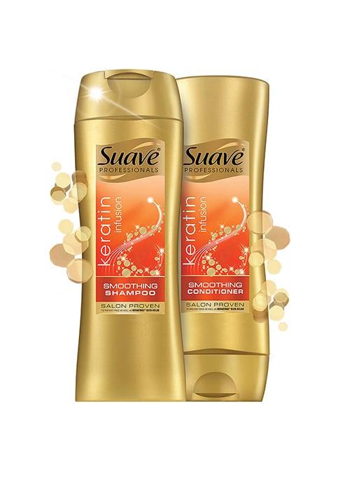 Suave Keratin Infusion Color Care Shampoo and Conditioner