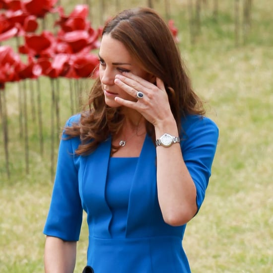 Kate Middleton and Prince William at the Tower of London