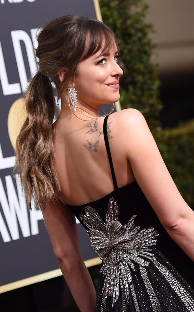 Celebrity Tattoos Red Carpet 2018