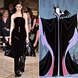 Maleficent in Christian Siriano Fall 2017