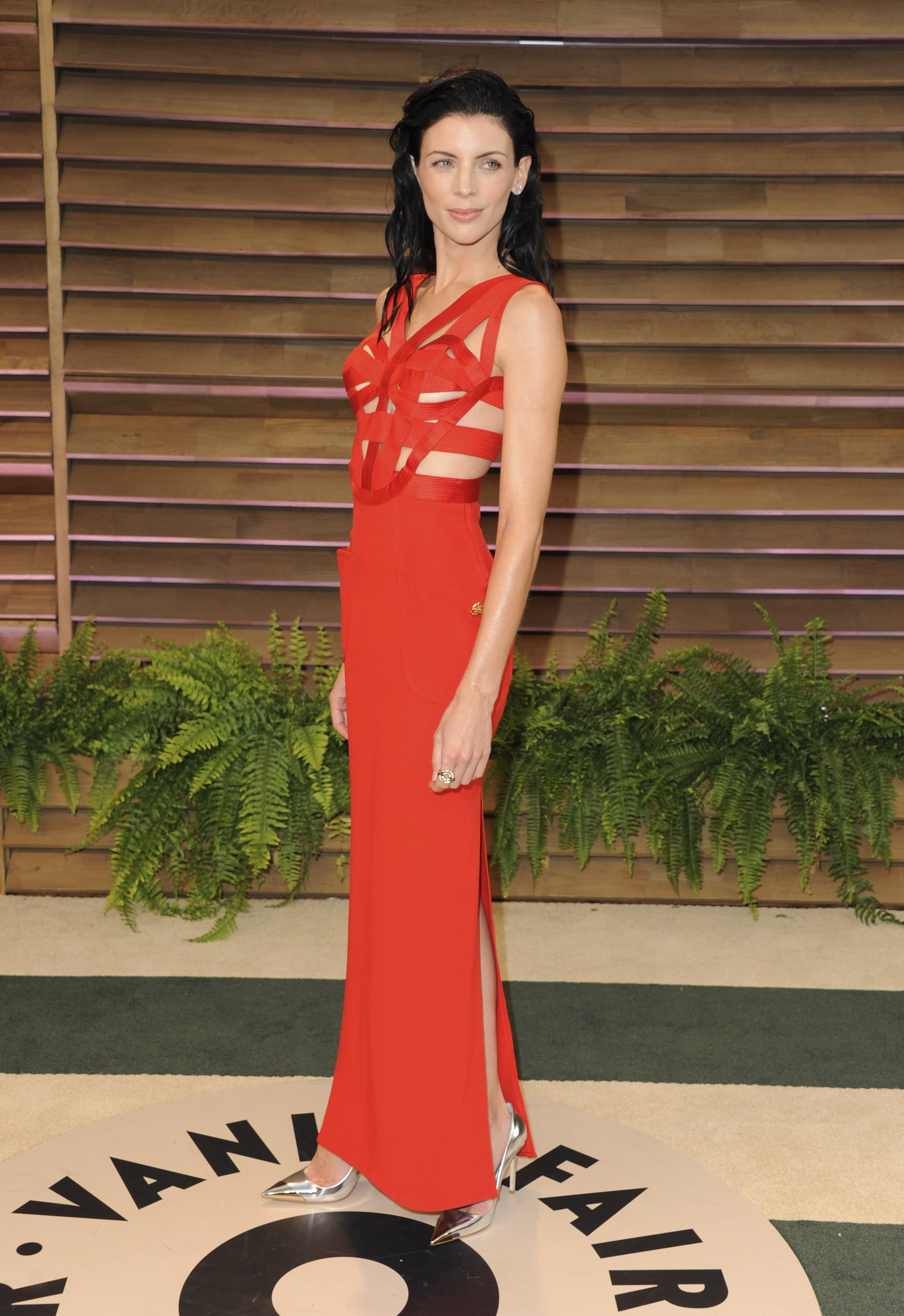 Liberty Ross at the 2014 Vanity Fair Oscars Party