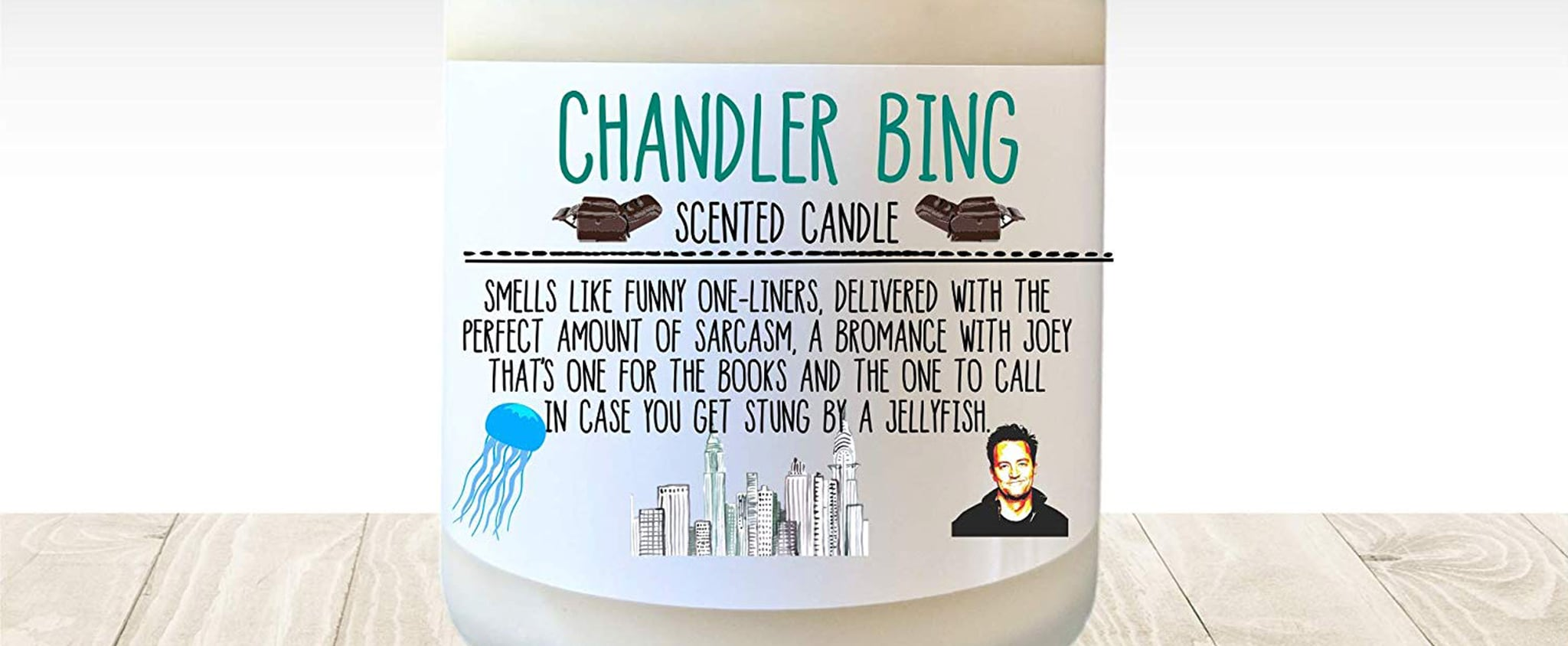 Friends Fans Can Get a Chandler Bing Candle on Amazon