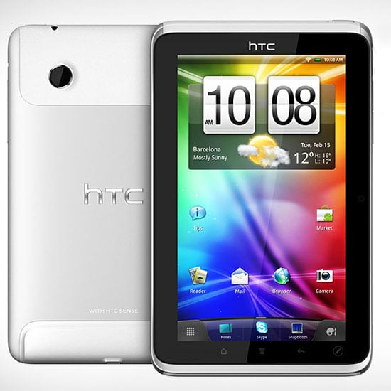 HTC Flyer Tablet Details