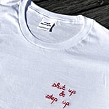"Read Receipts ""Shut Up and Step Up"" T-Shirt"