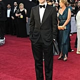 Justin Timberlake looked too cute in his bow tie.