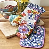 The Pioneer Woman Celia Oven Mitt & Pot Holder 2 pack Set ($6)