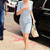 Selena Gomez's Blue Rouje Dress