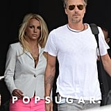 Britney Spears and Jason Trawick stepped out in Miami.