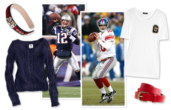 Super Bowl 2012 Giants And Patriots Inspired Outfit Ideas