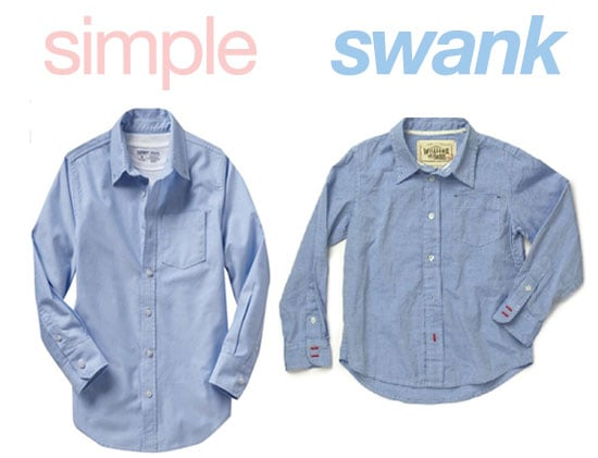 Simple or Swank: Oxford Shirts