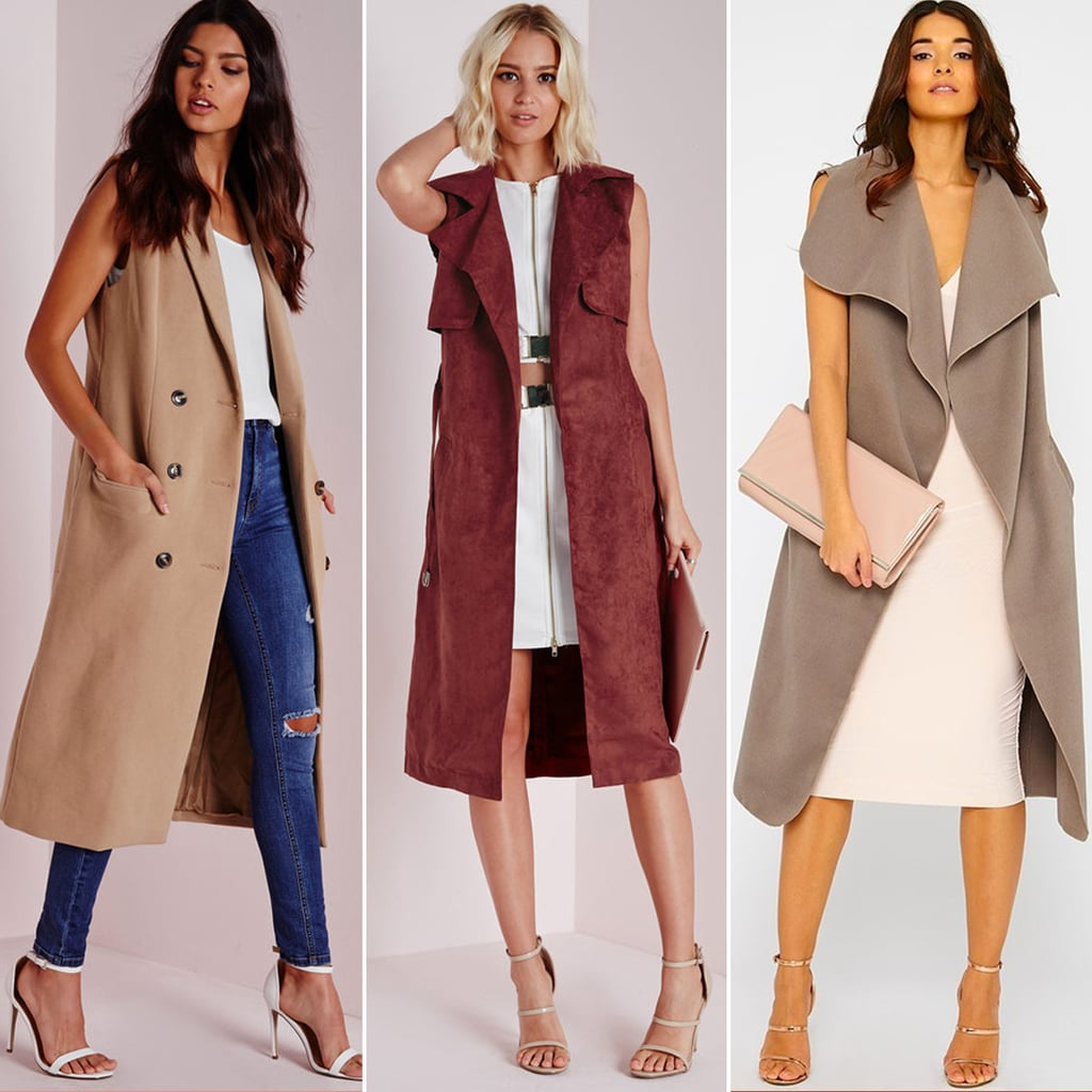 Sleeveless Coats and Jackets For All Budgets