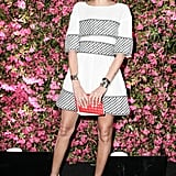 Giovanna Battaglia wore Spring 2013 Chanel at Chanel's Tribeca Film Festival Artists Dinner in New York. Source: Matteo Prandoni/BFAnyc.com