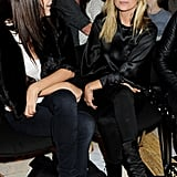 Kate Moss and friend Annabelle Neilson.