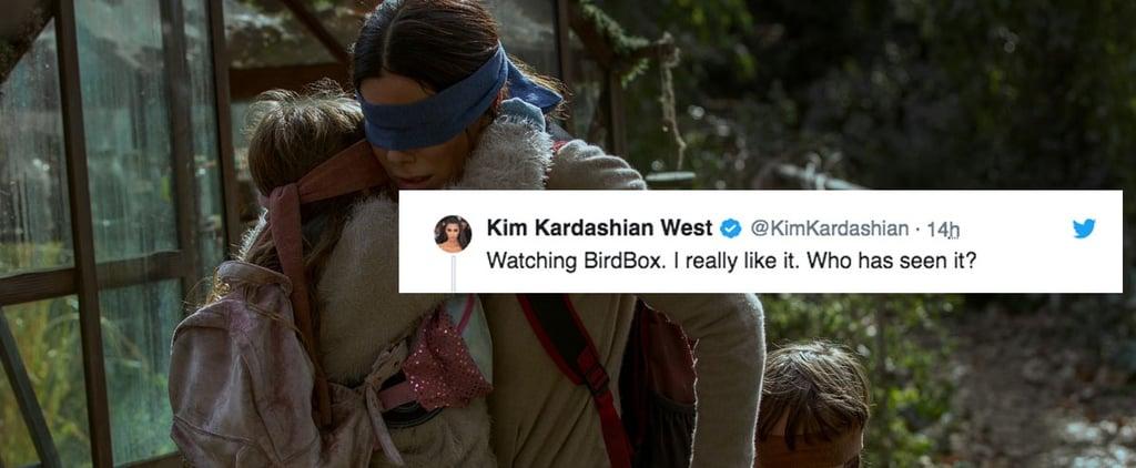 Chrissy Teigen and Kim Kardashian Tweet About Bird Box Movie