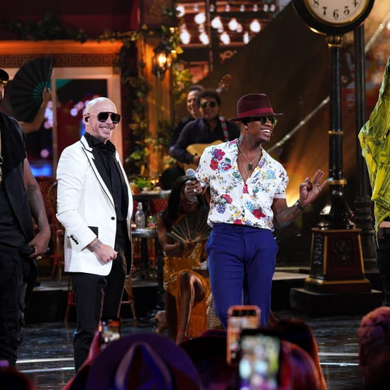 Ne-Yo, Pitbull Performance at Latin AMAs 2019