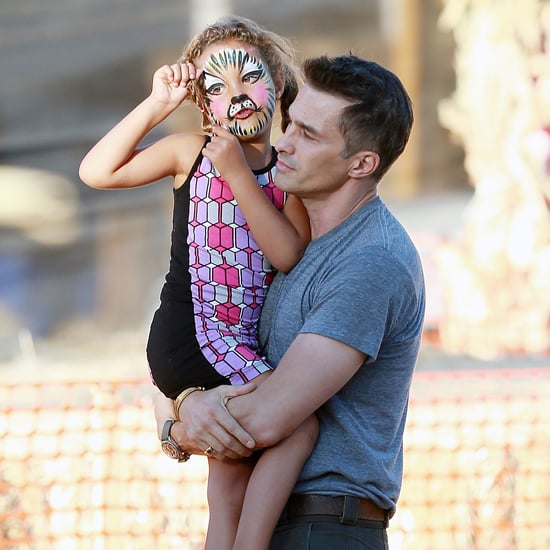 Olivier Martinez Takes Nahla Aubry to Pumpkin Patch in LA