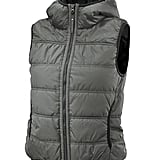 The sportier girl may take a liking to this Adidas by Stella McCartney weekender gilet ($180), but we think its silver hue is a great option for covering up during holiday outings.