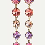 Roxanne Assoulin Drip Drop Gold-Tone Swarovski Crystal Clip Earrings