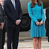Kate Middleton in a Emilia Wickstead Dress