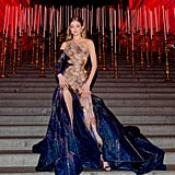 Gigi in Versace, May 2018