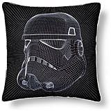 Star Wars Stormtrooper Helmet Grid Pillow