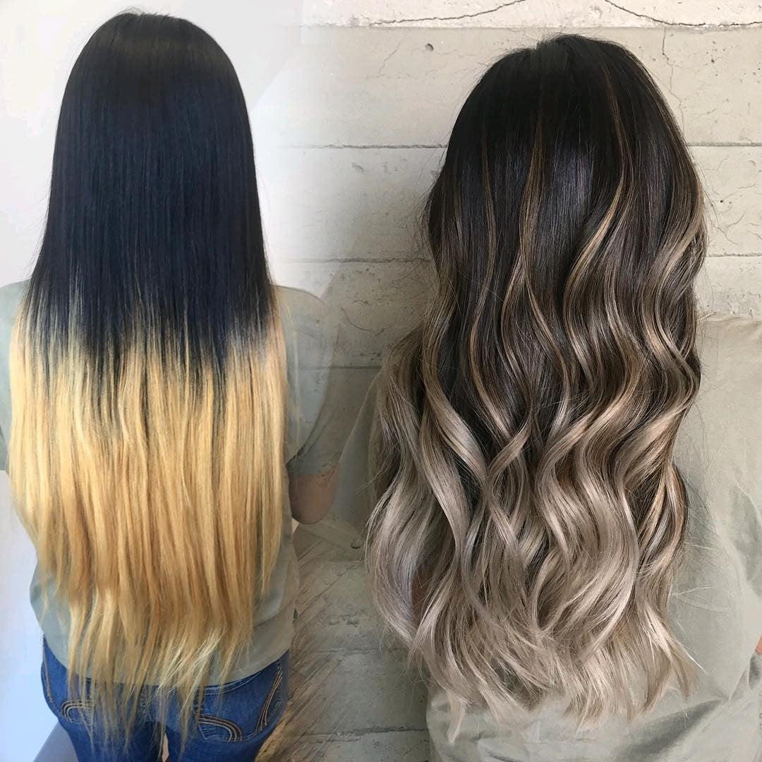Hair Colour Corrections Before And After Popsugar Beauty Australia