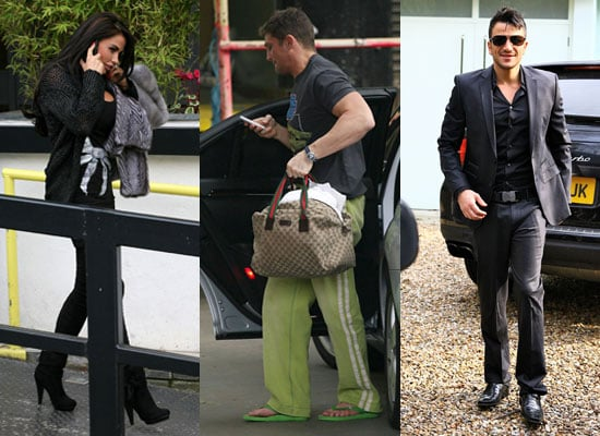 Photos of Katie Price and Alex Reid Plus Peter Andre