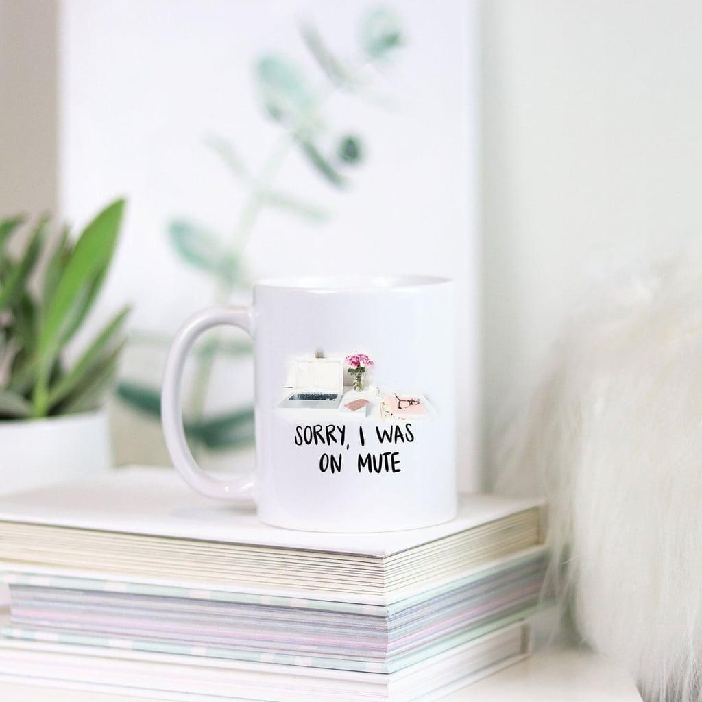 Love Always, Audrey Work From Home Coffee Mug