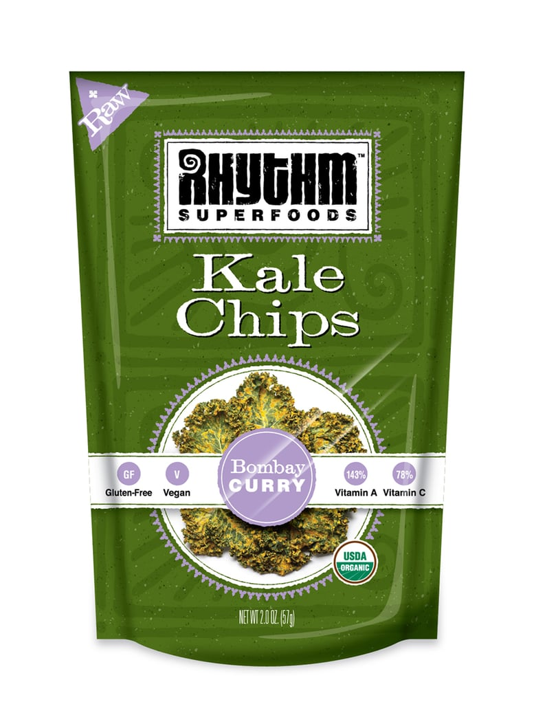 Savory: Rhythm Superfoods Curry Kale Chips