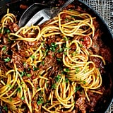 Slow-Cooked Shredded Beef Ragu Pasta