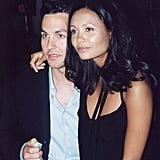 Thandie Newton and Ol Parker at the Mission Impossible 2 Premiere, 2000