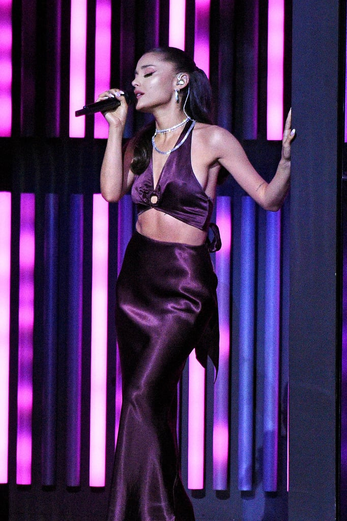 Ariana Grande Performing at the 2021 iHeartRadio Music Awards