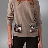 Madewell Sequin Pocket Sweater ($98)