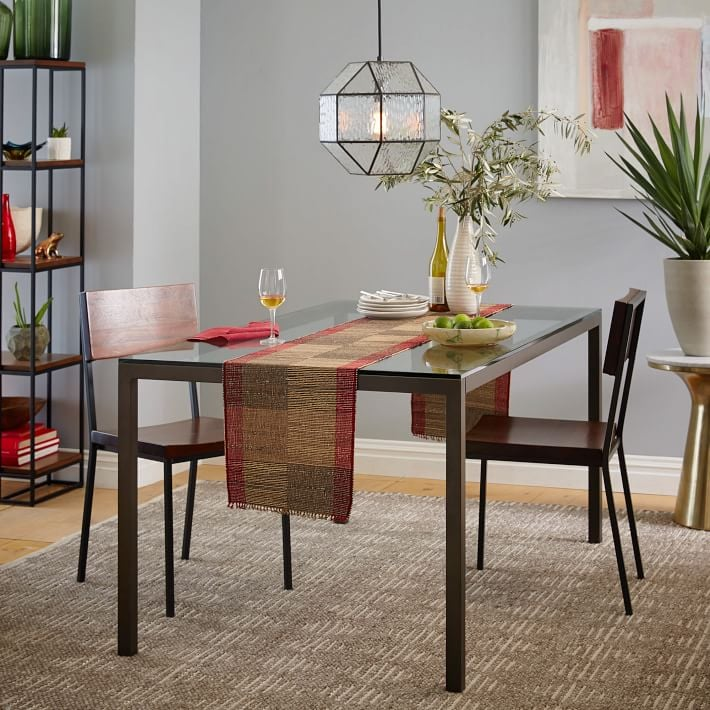 Box Frame Glass Dining Table ($280-349) | Affordable Dining Tables ...