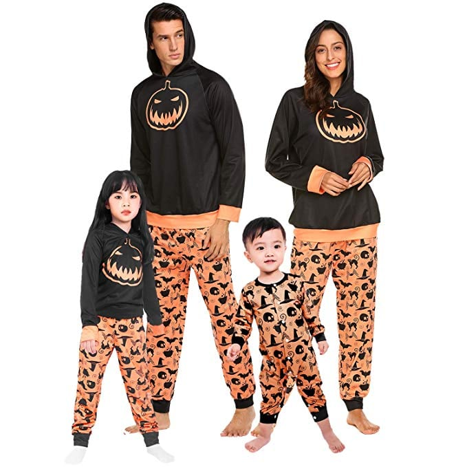 Teeker Halloween Family Pajama Set Costumes