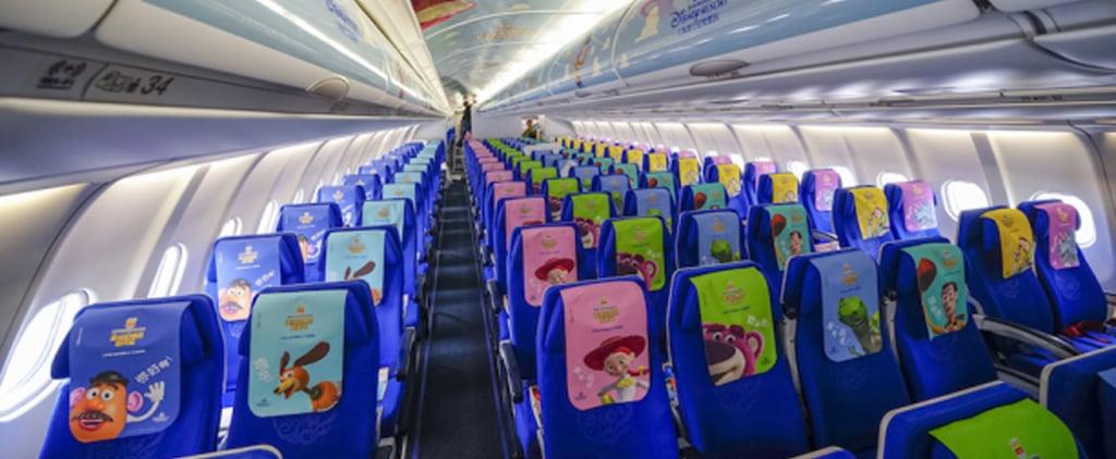 Disney Pixar Toy Story Land Themed Plane