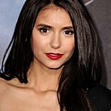 Nina Dobrev looked beautiful for the red carpet.