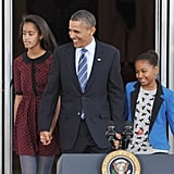 "In The Audacity of Hope: Thoughts on Reclaiming the American Dream, President Obama shared his inspiration: ""I'm inspired by the love people have for their children. And I'm inspired by my own children, how full they make my heart. They make me want to work to make the world a little bit better. And they make me want to be a better man."""