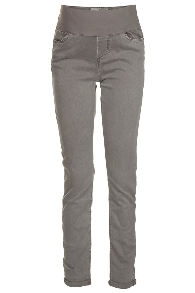 Topshop Maternity Moto Pale Grey Leigh Jeans