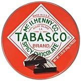 Tabasco Tin Spicy Dark Chocolate Wedges