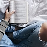 Feeling the pages of a good book between your fingers.