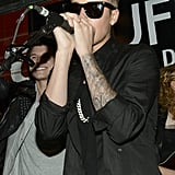 After Justin Bieber's intense deposition on Thursday, he performed at his manager Scooter Braun's showcase on Sunday.