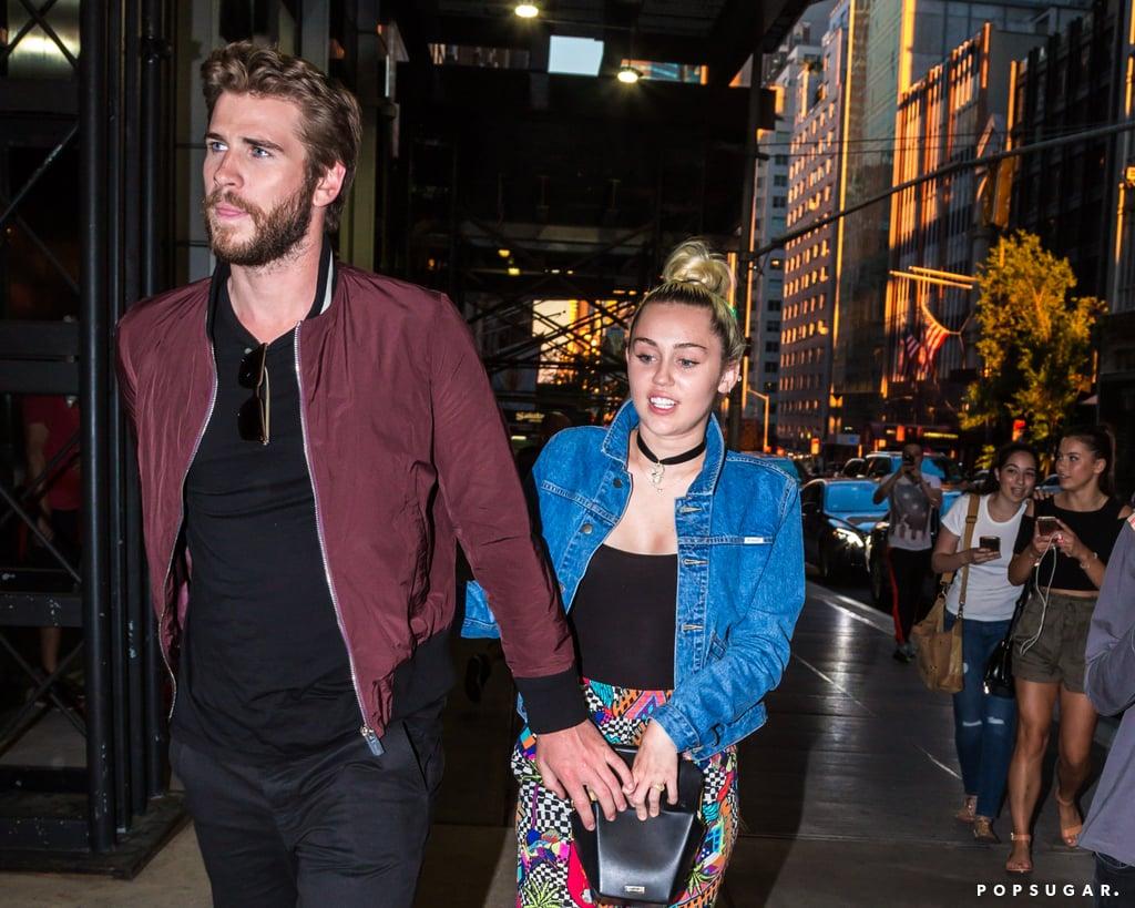 Miley Cyrus dan Liam Hemsworth (Sumber: Pop Sugar)