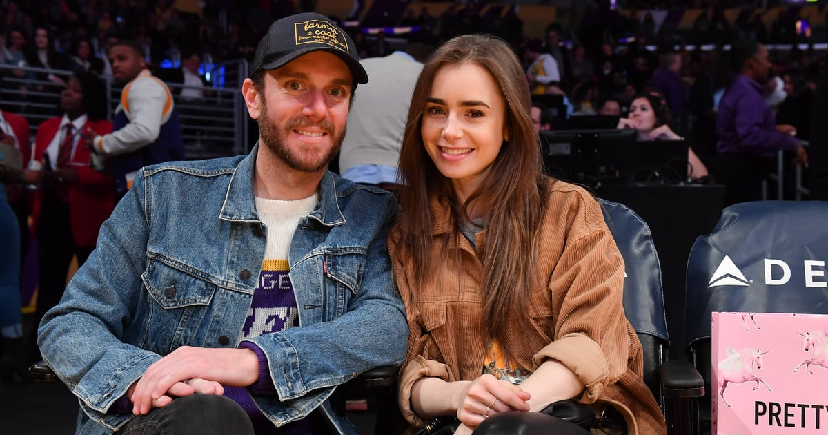 """14 Photos of Lily Collins and Charlie McDowell That Will Have You Saying, """"Ooh La La"""""""