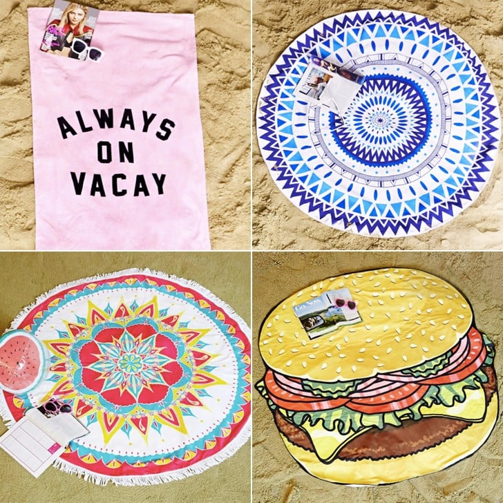 Cute Beach Towels POPSUGAR Smart Living